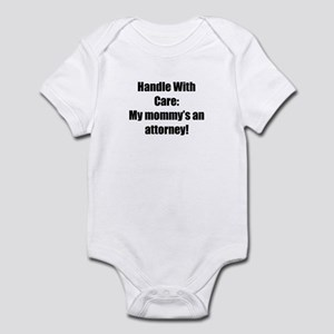 My Mommy's an Attorney Infant Bodysuit