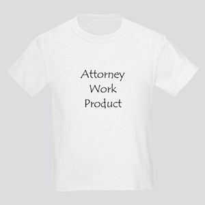 Attorney Work Product Kids T-Shirt