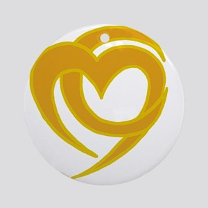Campus Ministry Logo Round Ornament