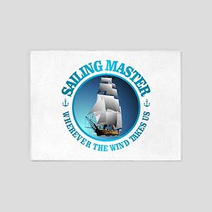 Sailing Master 5'x7'Area Rug