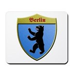 Berlin Germany Metallic Shield Mousepad