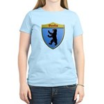 Berlin Germany Metallic Shield T-Shirt