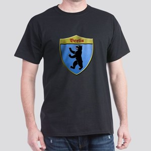 Berlin Germany Metallic Shield T-Shirt