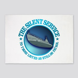 Silent Service 5'x7'Area Rug