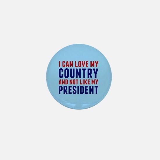 Anti Trump America Mini Button