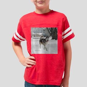huskytilebox5_25x Youth Football Shirt
