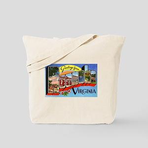 Roanoke Virginia Greetings Tote Bag