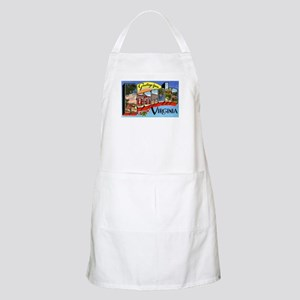 Roanoke Virginia Greetings BBQ Apron