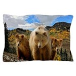 Bear Family Pillow Case