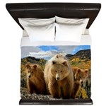 Bear Family King Duvet