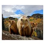 Bear Family King Duvet