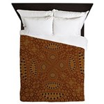 Aboriginal Moons Queen Duvet