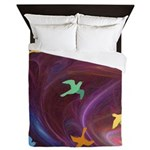 Peace Doves Queen Duvet
