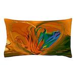 Abstract Heart Pillow Case
