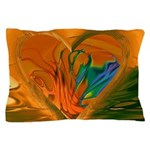 Abstract Heart Pillow Case