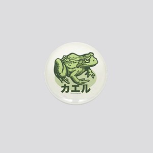 I Like the Frog Japanese Mini Button