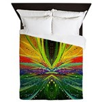 Alien Sunset Queen Duvet