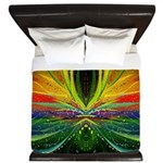 Alien Sunset King Duvet