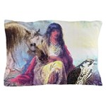 Hawk Woman Pillow Case
