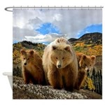 Bear Family Shower Curtain
