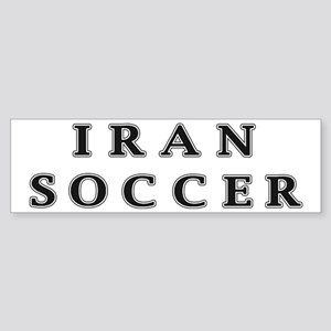 Iran Soccer Bumper Sticker