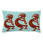 Lizard Kokopelli Pillow Case