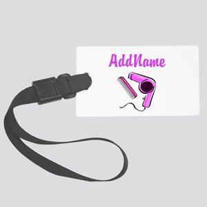 BEST HAIR STYLIST Large Luggage Tag