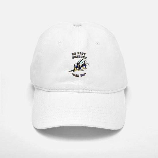 US Navy - SeaBees - Can Do Baseball Baseball Cap
