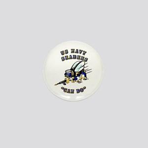 US Navy - SeaBees - Can Do Mini Button