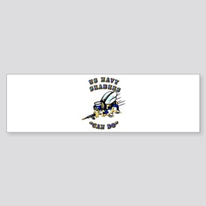 US Navy - SeaBees - Can Do Sticker (Bumper)