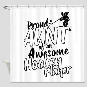 Proud Aunt of An Awesome Hockey Player Shower Curt
