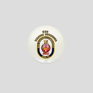 USS Winston Churchill - Crest Mini Button