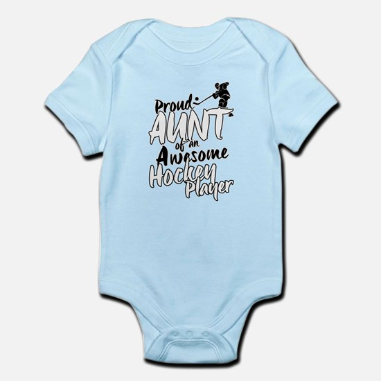 Proud Aunt of An Awesome Hockey Player Body Suit