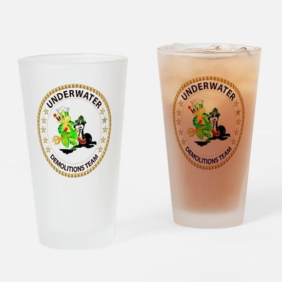 SOF - Underwater Demolitions Team Drinking Glass