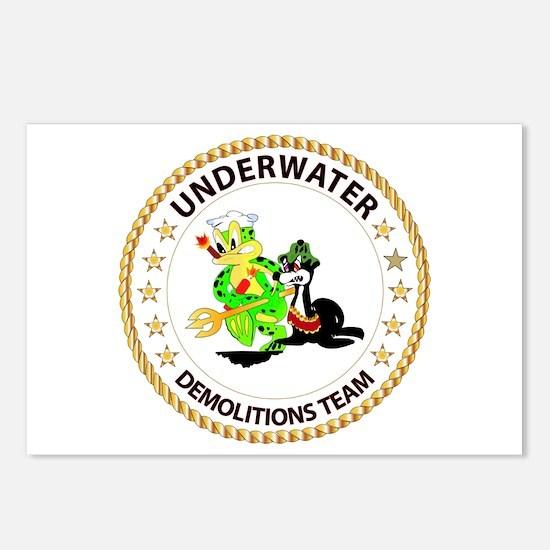 SOF - Underwater Demolitions Team Postcards (Packa