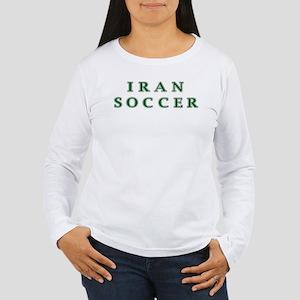 Iran Soccer Women's Long Sleeve T-Shirt