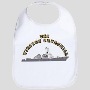 USS Winston Churchill - Ship Bib