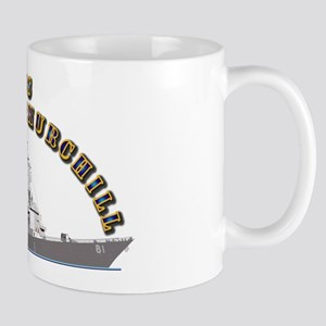 USS Winston Churchill - Ship Mug