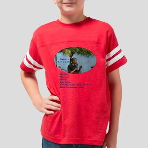Obama Ohana Priorities T-shir Youth Football Shirt