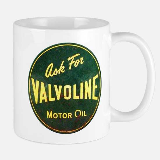 Valvoline Vintage dieselpunk signboard Mug