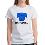 Nathaniel Puppy Dog Gift Women's T-Shirt
