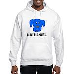 Nathaniel Puppy Dog Gift Hooded Sweatshirt