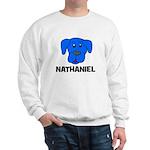 Nathaniel Puppy Dog Gift Sweatshirt