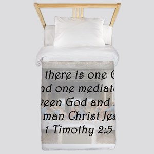 1 Timothy 2:5 Twin Duvet