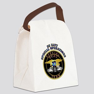SOF - Special Boat Team 12 Canvas Lunch Bag