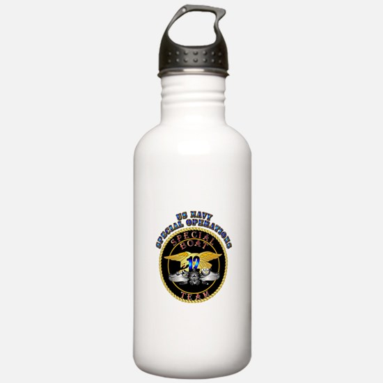 SOF - Special Boat Team 12 Water Bottle
