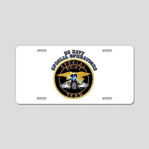 SOF - Special Boat Team 12 Aluminum License Plate
