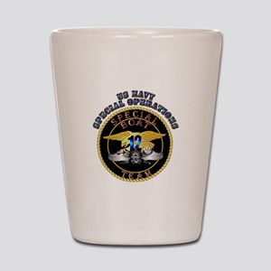 SOF - Special Boat Team 12 Shot Glass