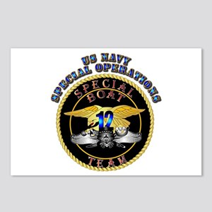 SOF - Special Boat Team 12 Postcards (Package of 8