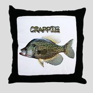 Crappie Throw Pillow